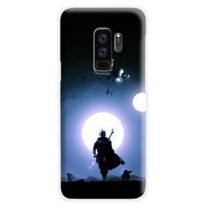 The Mandalorian Poster Samsung Galaxy S9 Plus Case