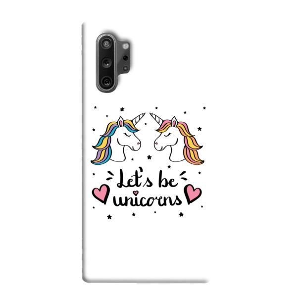 Unicorns of Love Samsung Galaxy Note 10 Plus Case