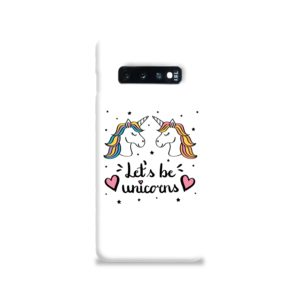 Unicorns of Love Samsung Galaxy S10 Case
