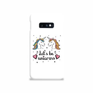 Unicorns of Love Samsung Galaxy S10e Case