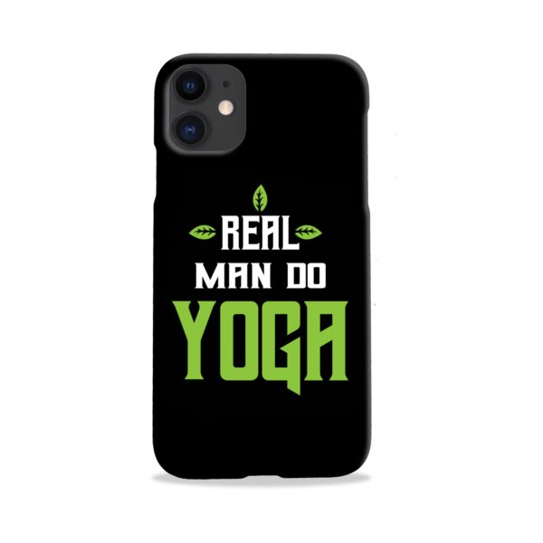 Yoga Motivational Powerful Quotes iPhone 11 Case