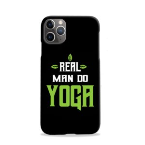 Yoga Motivational Powerful Quotes iPhone 11 Pro Case