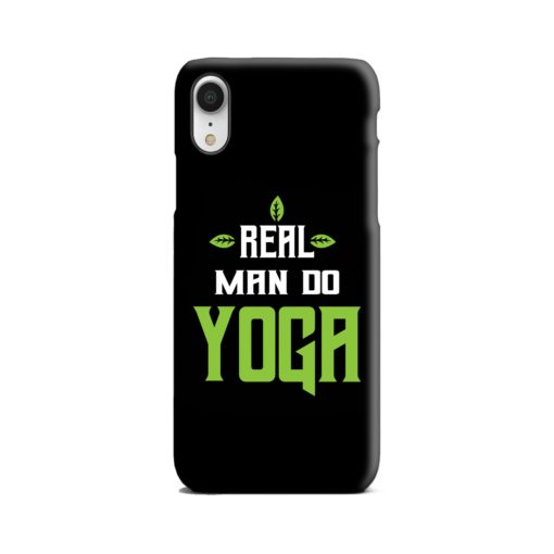Yoga Motivational Powerful Quotes iPhone XR Case
