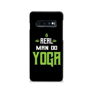 Yoga Motivational Powerful Quotes Samsung Galaxy S10 Case