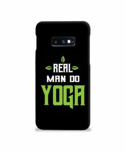 Yoga Motivational Powerful Quotes Samsung Galaxy S10e Case