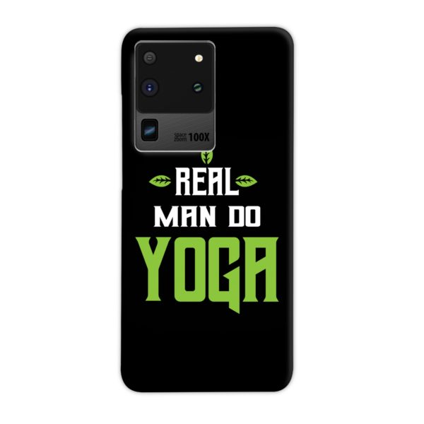 Yoga Motivational Powerful Quotes Samsung Galaxy S20 Ultra Case