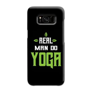 Yoga Motivational Powerful Quotes Samsung Galaxy S8 Case
