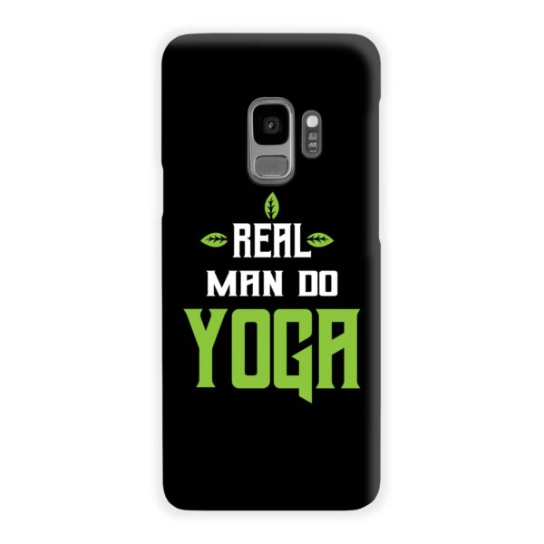 Yoga Motivational Powerful Quotes Samsung Galaxy S9 Case