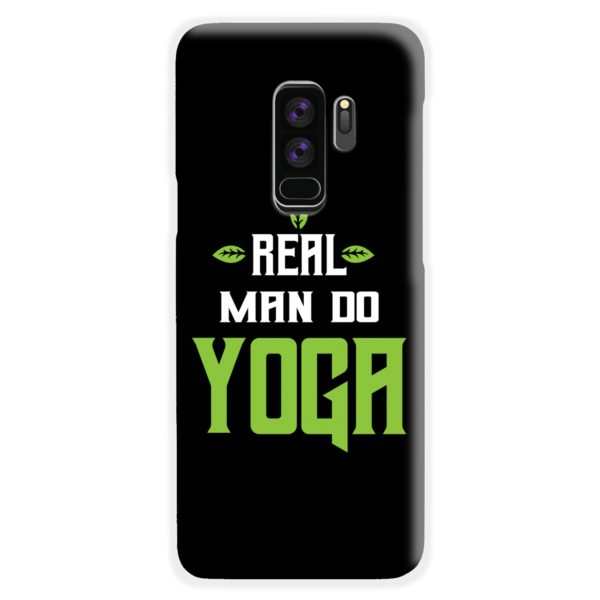 Yoga Motivational Powerful Quotes Samsung Galaxy S9 Plus Case