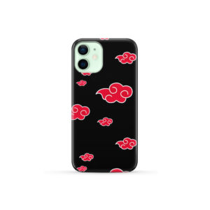 Akatsuki Clouds Naruto for Customized iPhone 12 Mini Case Cover