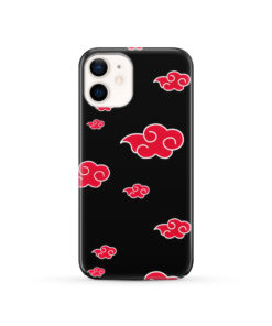 Akatsuki Clouds Naruto for Nice iPhone 12 Case Cover