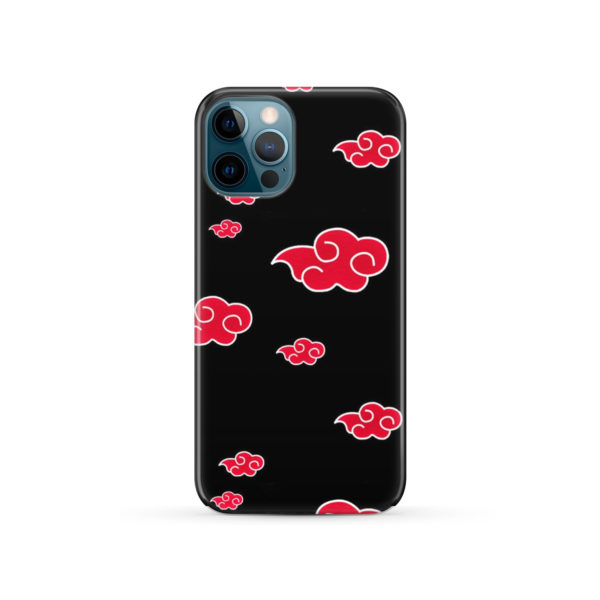 Akatsuki Clouds Naruto for Stylish iPhone 12 Pro Case Cover