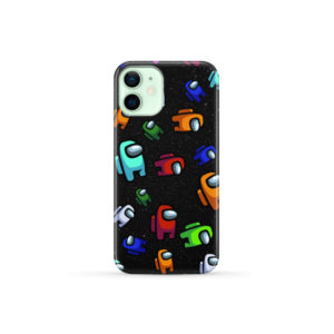 Among Us Pattern for Cool iPhone 12 Mini Case Cover