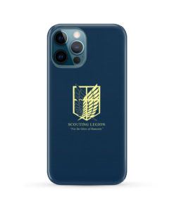 Attack on Titan Scouting Legion for Amazing iPhone 12 Pro Max Case