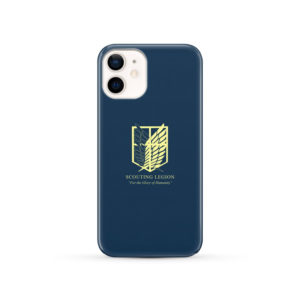 Attack on Titan Scouting Legion for Cute iPhone 12 Case