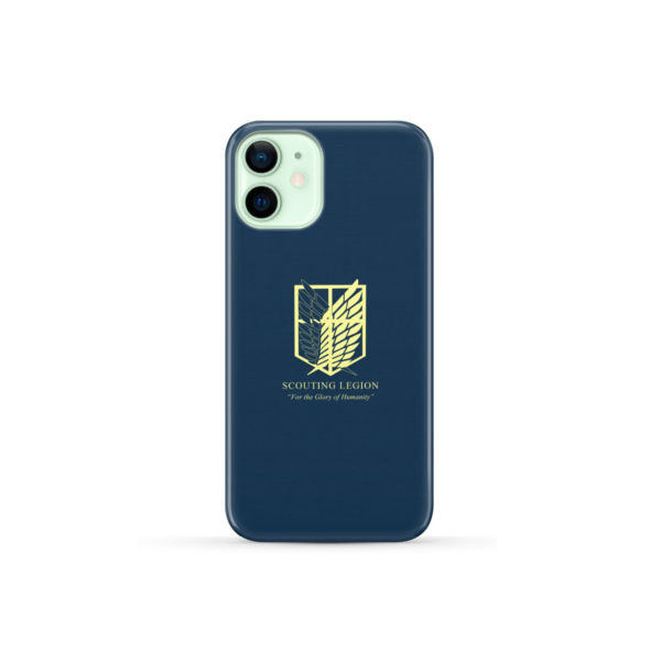 Attack on Titan Scouting Legion for Cute iPhone 12 Mini Case