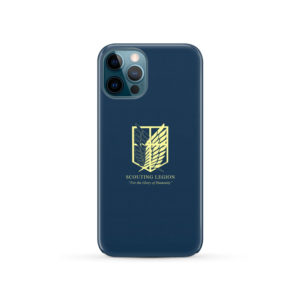 Attack on Titan Scouting Legion for Personalised iPhone 12 Pro Case Cover