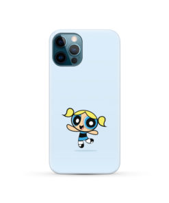 Cute Bubbles Powerpuff Girls for Personalised iPhone 12 Pro Case Cover