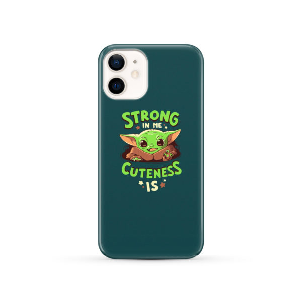 Cute Child Baby Yoda for Beautiful iPhone 12 Case