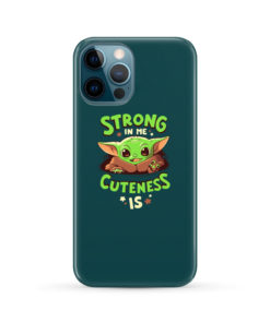 Cute Child Baby Yoda for Premium iPhone 12 Pro Max Case Cover