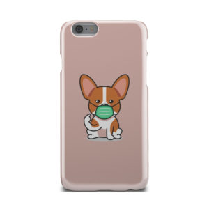 Cute Puppy Wearing Protective Face for Personalised iPhone 6 Case