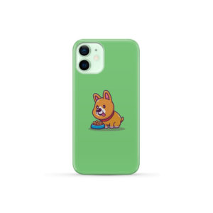 Cute Welsh Corgi Cartoon for Cool iPhone 12 Mini Case Cover