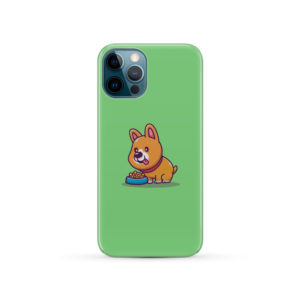 Cute Welsh Corgi Cartoon for Cool iPhone 12 Pro Case