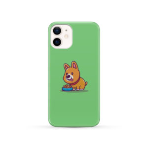 Cute Welsh Corgi Cartoon for Custom iPhone 12 Case Cover