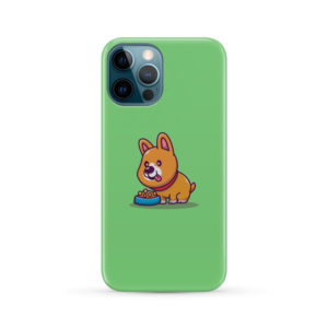 Cute Welsh Corgi Cartoon for Simple iPhone 12 Pro Max Case