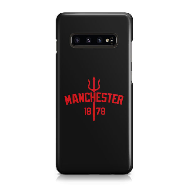 Devils of Manchester is Red for Beautiful Samsung Galaxy S10 Case