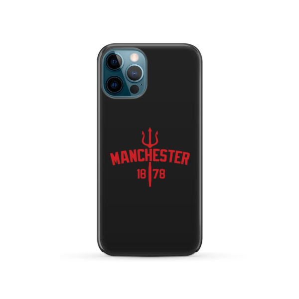 Devils of Manchester is Red for Best iPhone 12 Pro Case