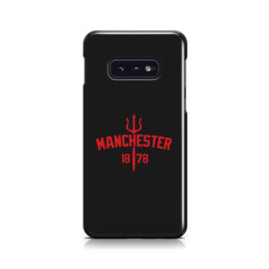 Devils of Manchester is Red for Best Samsung Galaxy S10e Case Cover