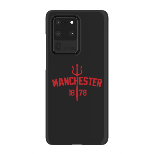 Devils of Manchester is Red for Best Samsung Galaxy S20 Ultra Case