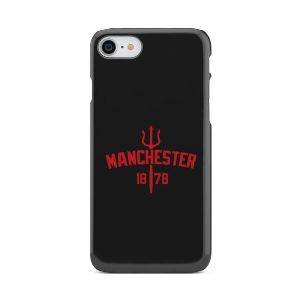 Devils of Manchester is Red for Cool iPhone 8 Case Cover