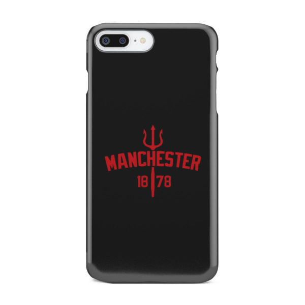 Devils of Manchester is Red for Custom iPhone 8 Plus Case
