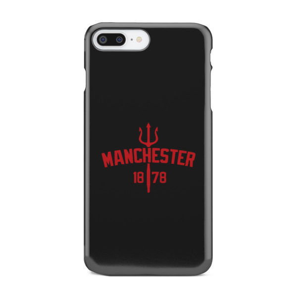 Devils of Manchester is Red for Customized iPhone 7 Plus Case