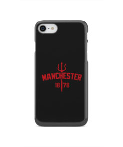 Devils of Manchester is Red for Customized iPhone SE 2020 Case Cover