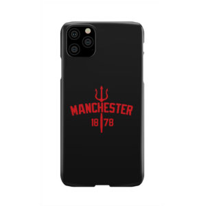 Devils of Manchester is Red for Newest iPhone 11 Pro Max Case Cover