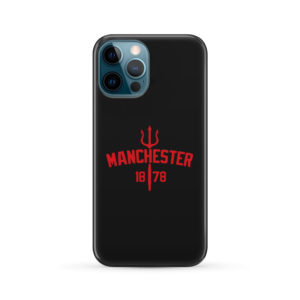 Devils of Manchester is Red for Newest iPhone 12 Pro Max Case Cover