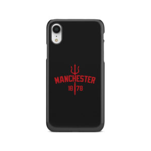 Devils of Manchester is Red for Newest iPhone XR Case Cover
