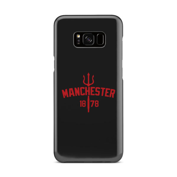 Devils of Manchester is Red for Newest Samsung Galaxy S8 Plus Case