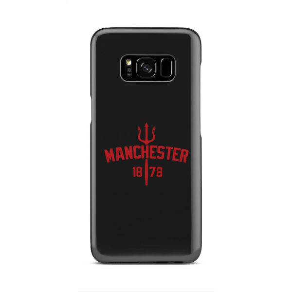 Devils of Manchester is Red for Nice Samsung Galaxy S8 Case