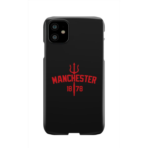 Devils of Manchester is Red for Personalised iPhone 11 Case Cover