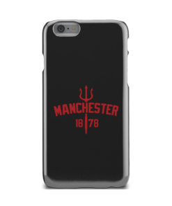 Devils of Manchester is Red for Personalised iPhone 6 Case Cover