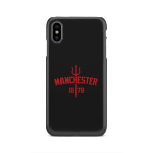 Devils of Manchester is Red for Simple iPhone XS Max Case Cover