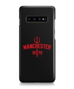 Devils of Manchester is Red for Simple Samsung Galaxy S10 Plus Case
