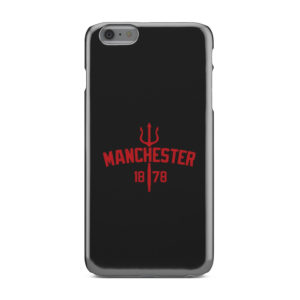 Devils of Manchester is Red for Stylish iPhone 6 Plus Case