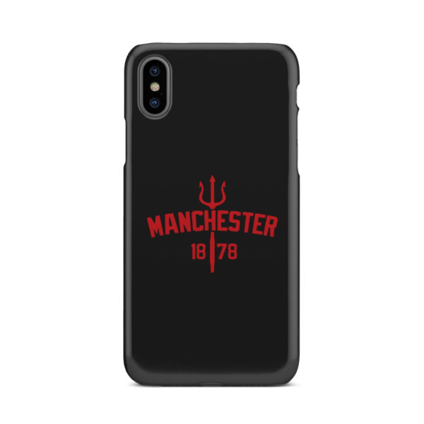 Devils of Manchester is Red for Stylish iPhone X / XS Case Cover