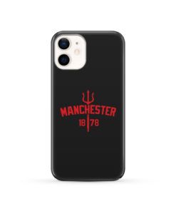 Devils of Manchester is Red for Unique iPhone 12 Case Cover
