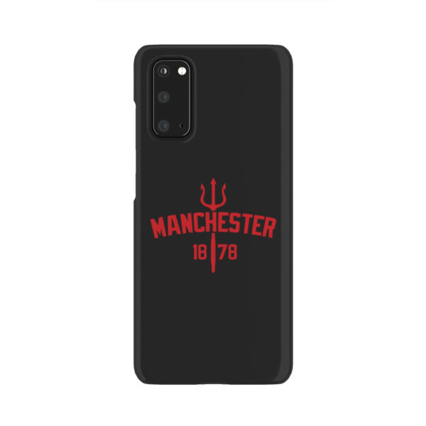 Devils of Manchester is Red for Unique Samsung Galaxy S20 Case